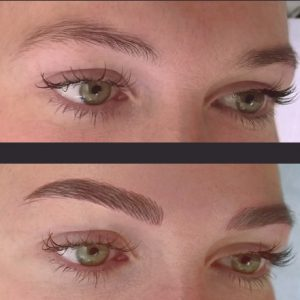 Semi Permanent Eyebrows by Natural Enhancements 2017